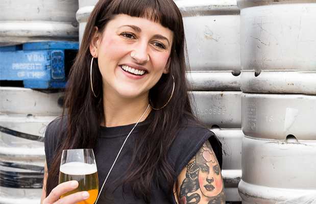 """Head Brewer Agi Gajic says she wanted to """"create a drink that you could have a few of and still have your wits about you, while not comprising on flavour""""."""