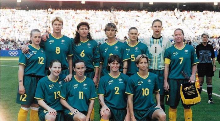 Alison Forman 2000 Olympic Games Matilda's