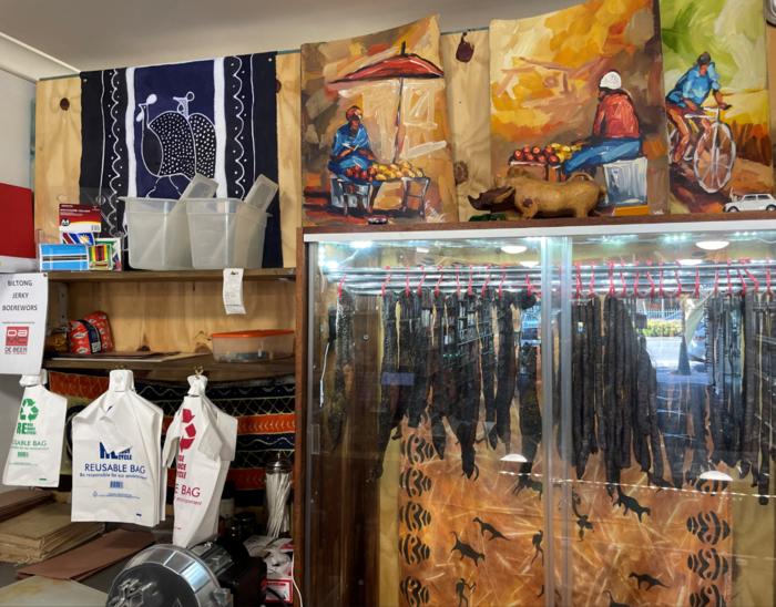 Interiors of Uncle's 'The Biltong & Jerky Shop', Moorooka