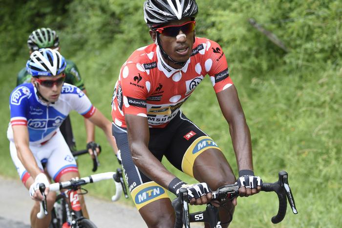Daniel Teklehaimanot, MTN-Qhubeka, Tour de France