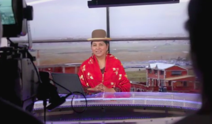 States of Undress meets Bolivia's first indigenous newsreader