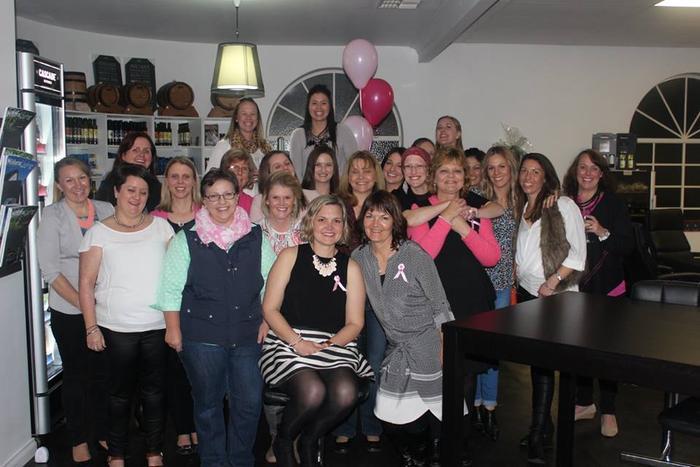 Bye Bye Boobie party for BRCA2 gene carrier Bree Wakefield