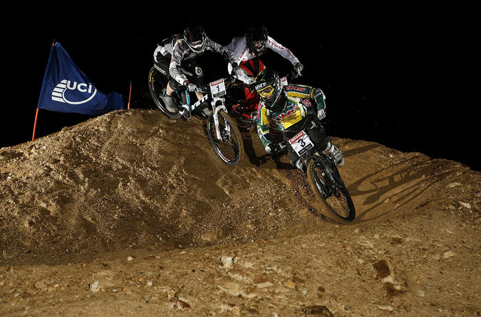Buchanan got out in front early during the 2009 4X world champs