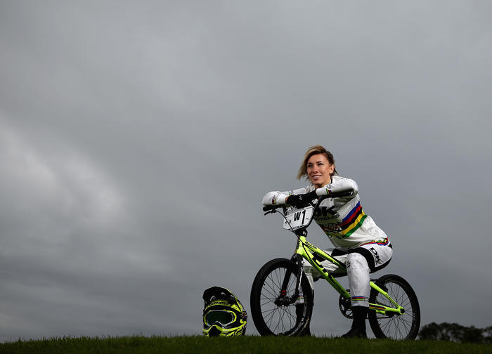Buchanan was happy to be back in the rainbow stripes of a cycling world champion...but it's the once in four years appeal of the
