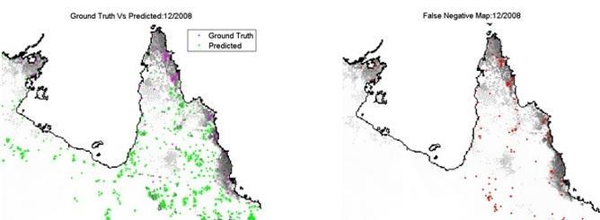 bushfire prediction map
