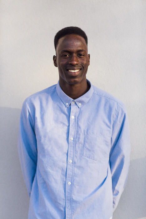 Juach Deng, founder and director of Rin Models