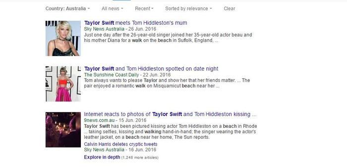 Taylor Swift takes a walk Tom Hiddleston sport