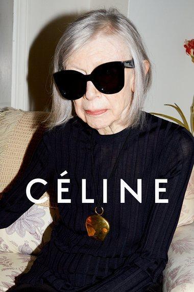 Joan Didion for Celine