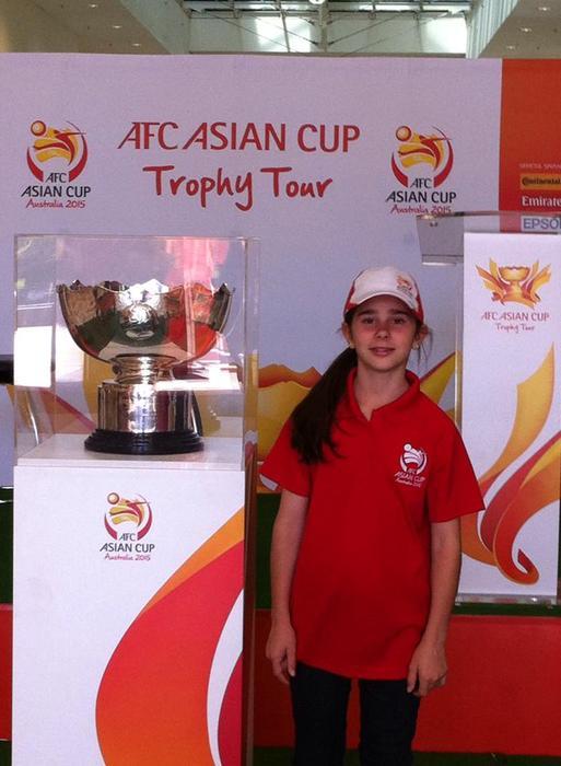 Claire Falls, Asian Cup ambassador