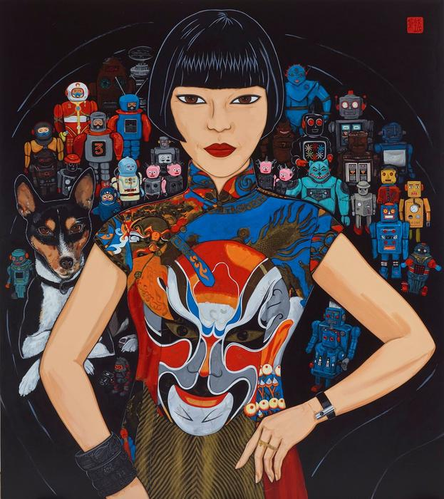 Claudia, Spartacus and the robots by Kate Beynon