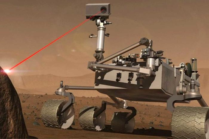 curiosity with a laser