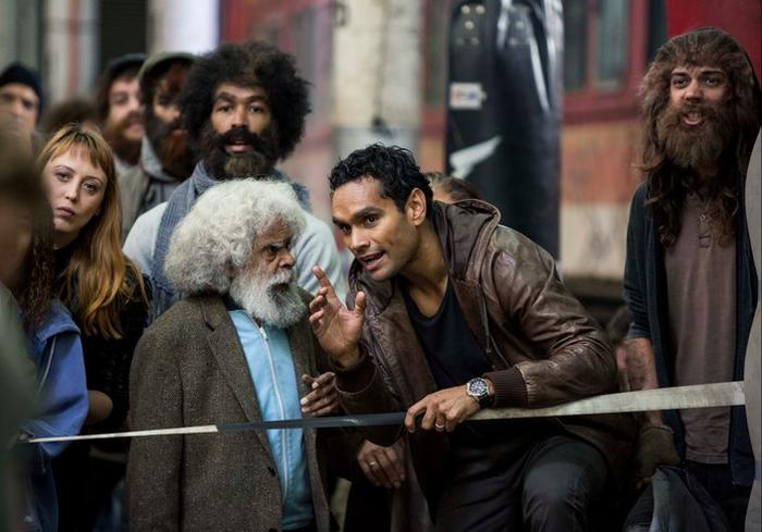 The Cleverman ABC,The Zone, Uncle Jimmy (Jack Charles) Waruu West (Rob Collins)