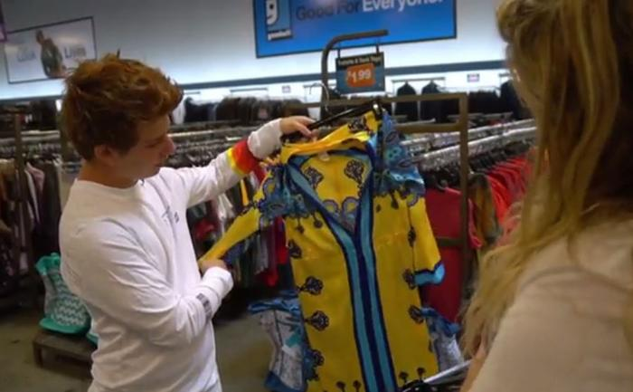 This teenager is upcycling clothes for homeless LGBT+ youth