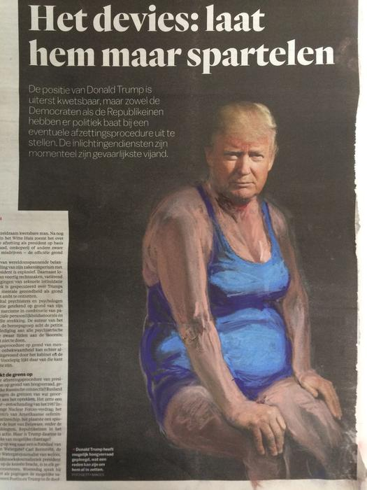 'Just Let Him Writhe...', Het Parool, Series Part I by Jet Nijkamp