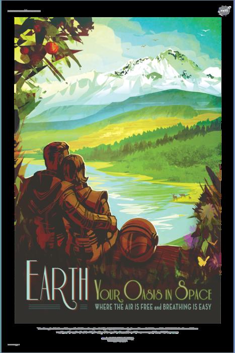 NASA Earth poster