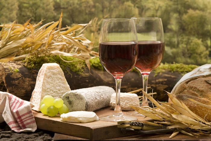 Resveratrol is found at only trace levels in red wine.