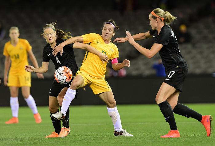 Australia Matildas 2016 Olympic Games New Zealand