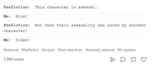 literally just 14 tumblr posts about being asexual sbs