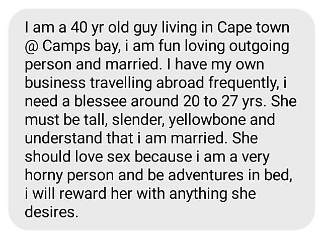 dating sites voor sugar Daddies in Zuid-Afrika Matchmaking server Picker 4,4