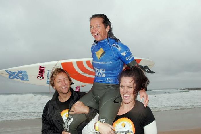 Male athletes can play an important role in supporting female surfers' struggles for equity.