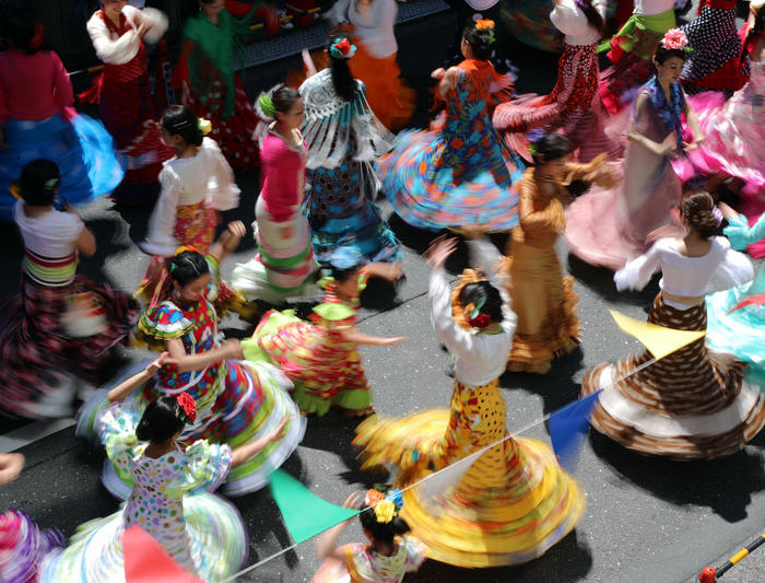 flamenco dancers in japan