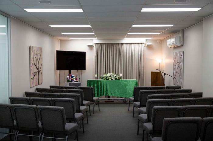 One of BAL's funeral service rooms.