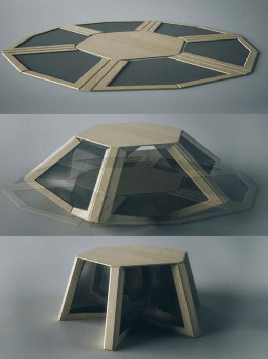 self assembling furniture