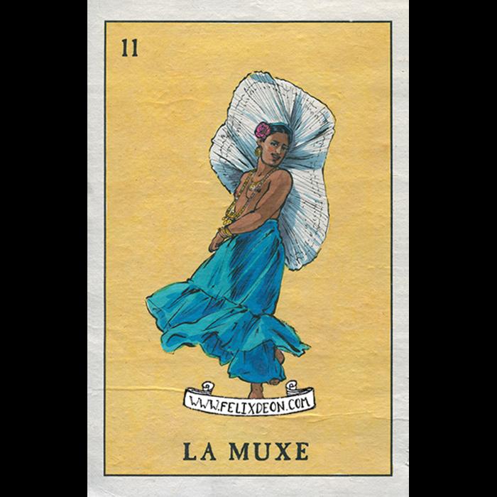 La Muxe by Felix Frederic d'Eon