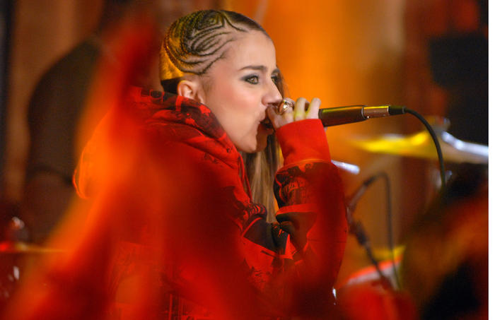 MTV Goes Gold: New Year's Eve 2007 Live at MTV's Times Square Studios