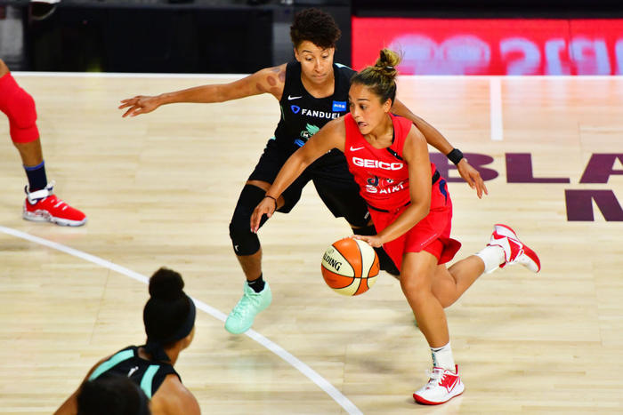 New York Liberty v Washington Mystics