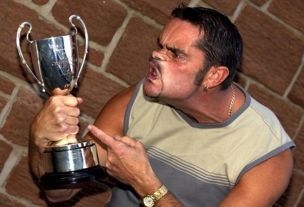 Tommy Mattinson, a Gurning World Champion.