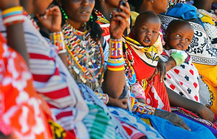 Babies in Kenya