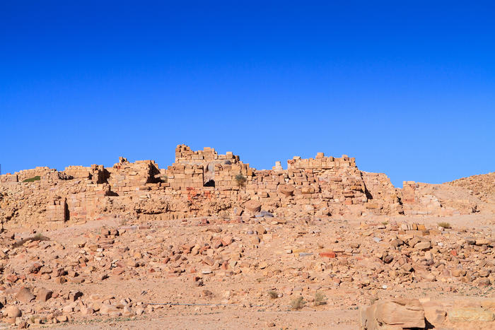 The Temple of Winged Lions in Petra, Jordan dates to the second century AD. (Getty Images)