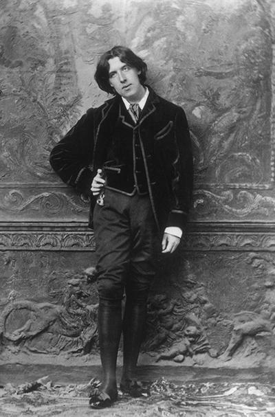 1882: Irish poet and playwright Oscar Wilde (1854 - 1900)
