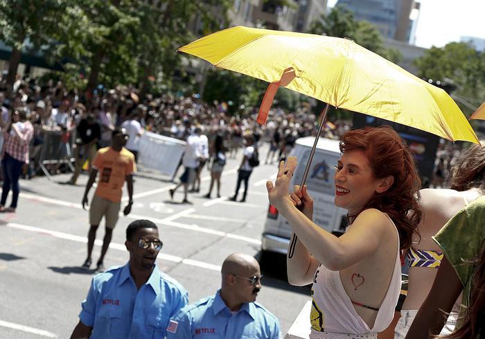 Yael Stone NY Pride - Netflix's Orange Is The New Black