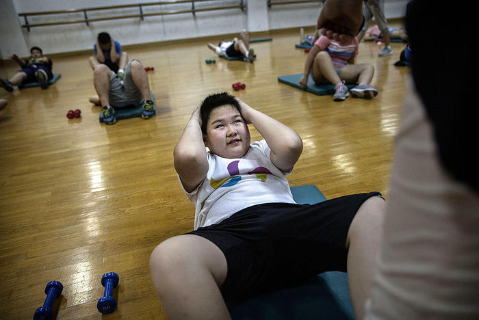 Childhood obesity in China