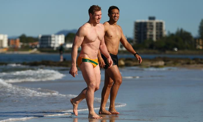 Australian Wallabies Recovery Session