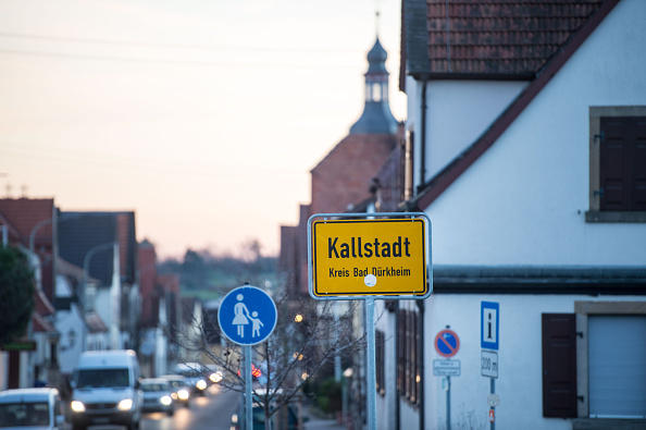 Kallstadt, Germany where Friedrich Trump, grandfather of US President Donald Trump, grew up.