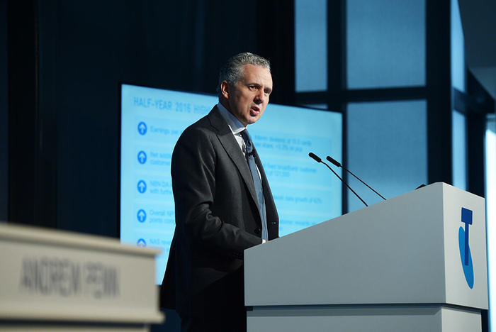 Telstra Corp. Chief Executive Officer Andrew Penn Presents Half-Year Results