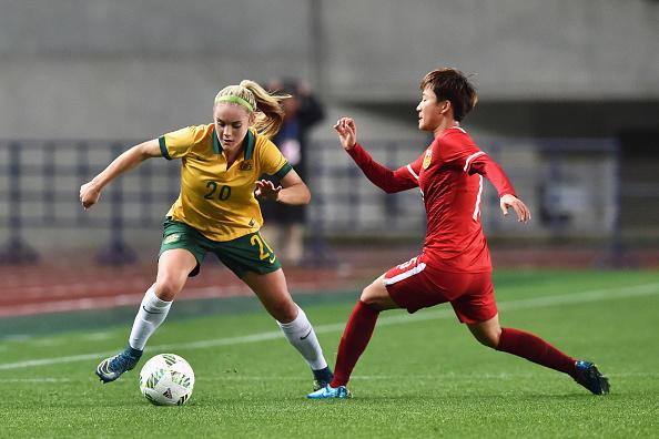Australia v China - AFC Women's Olympic Final Qualification Round