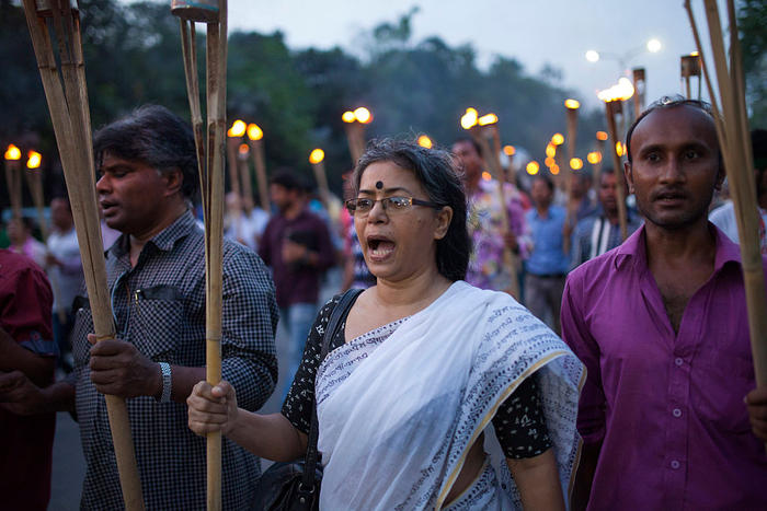 Bangladesh Protests After Blogger Hacked To Death