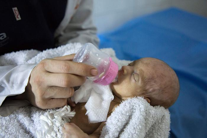 newborn syrian baby