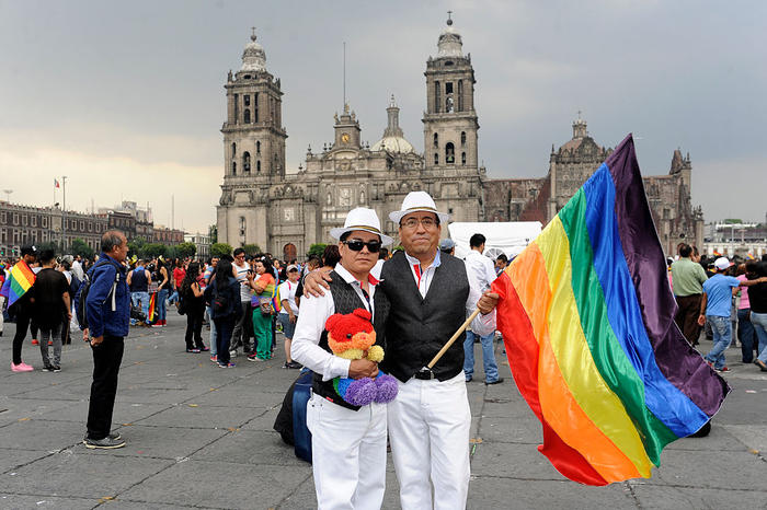 Gay Pride Parade in Mexico
