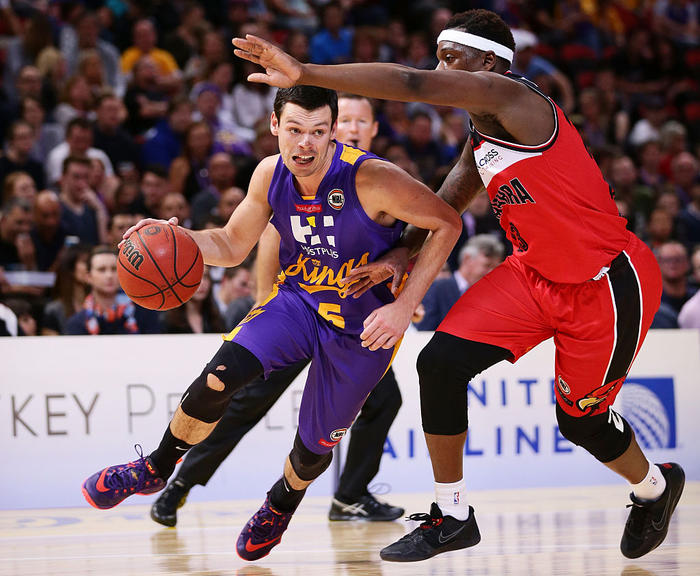 Jason Cadee in action for the Sydney Kings