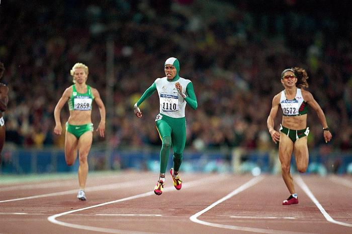 Australia Cathy Freeman, 2000 Summer Olympics