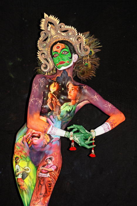 The Best Photos From The World Bodypainting Festival In Austria Sbs Life