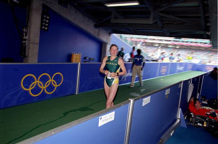 Jane Saville -Race Walking - Sydney 2000