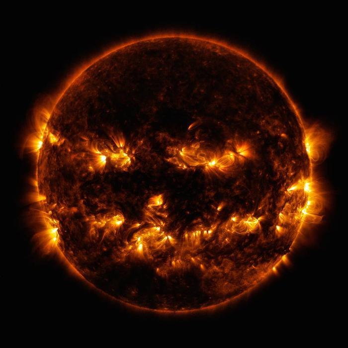 NASA Halloween Sun