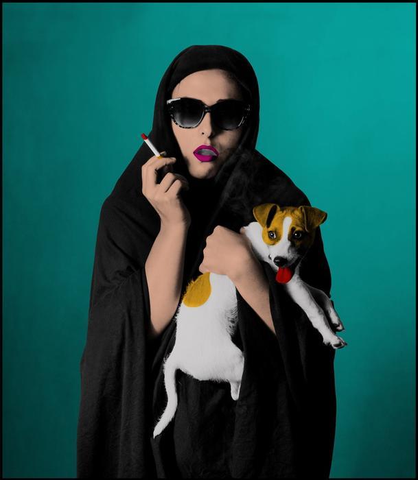 Westoxicated #7, Hoda Afshar