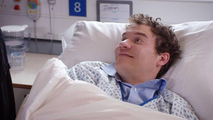 Jules Robertson on the BBC drama Holby City